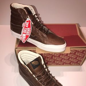 NWT all leather vans